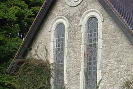 Windows of Coolcarrigan Church